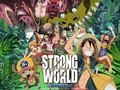 *Strong World * - one-piece wallpaper