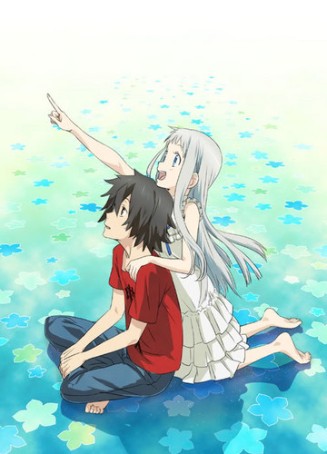 AnoHana wallpaper with anime called =)