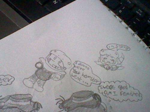 ... snakeman doodles,