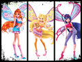 3d winx fairies 1 - the-winx-club fan art