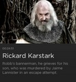 Rickard Karstark - game-of-thrones photo