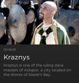 Kraznys mo Nakloz - game-of-thrones photo
