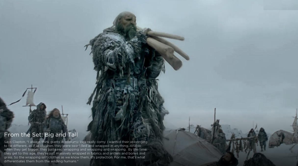 maquiagem de Game of Thrones continua sendo impressionante Giant Game Of Thrones