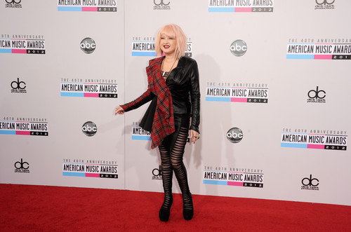 40th American muziek Awards at Nokia Theatre L.A. Live in Los Angeles