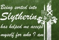 Acceptance - slytherin photo
