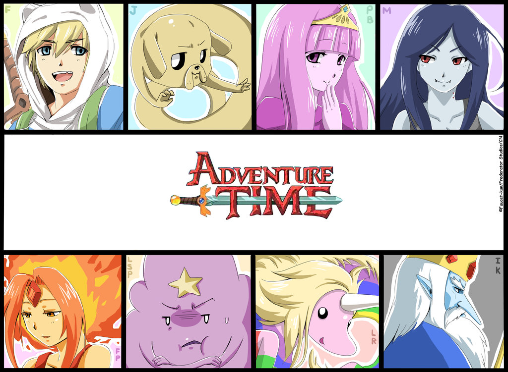 Adventure Time With Finn and Jake Adventure time Anime style
