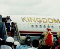 Arriiving In Honolulu, Hawaii Back In 1997 - michael-jackson photo