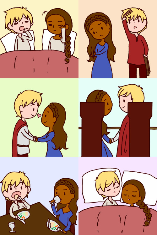 Arthur & Guinevere: Married Life