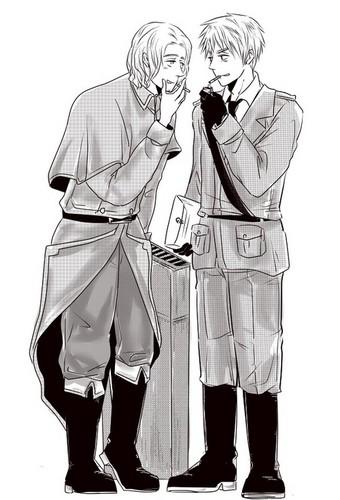 Arthur x Francis