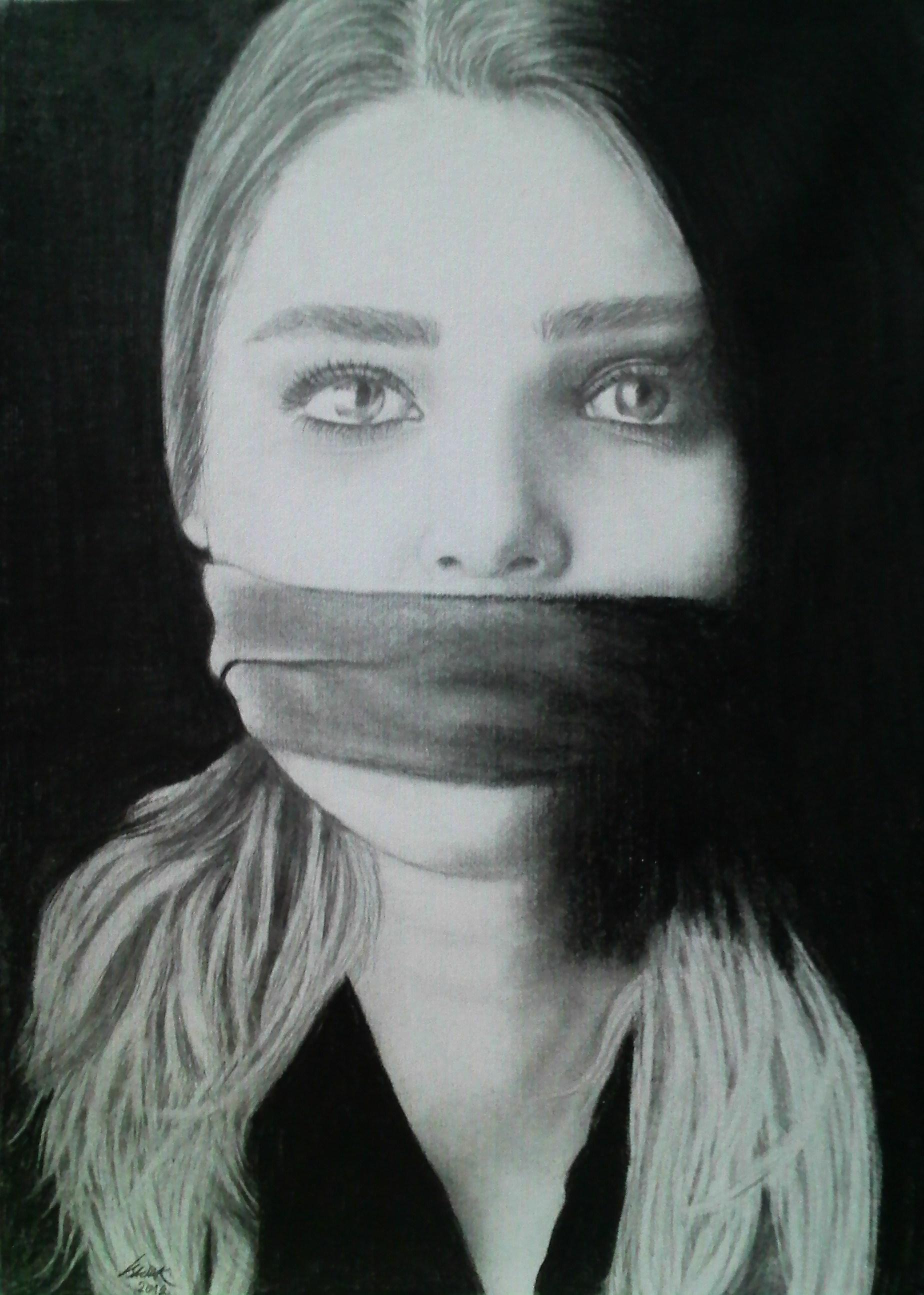 my Asli Enver drawing