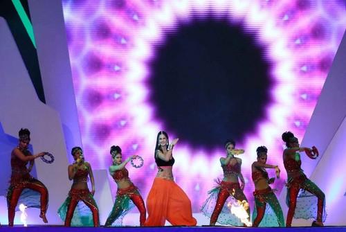 At IPL Opening Ceremony 2013