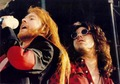 Axl and Gilby - guns-n-roses photo