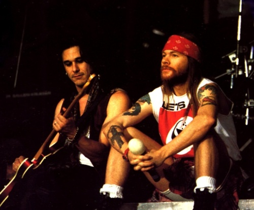 Axl and Gilby