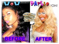 BEFORE AND AFTER - nicki-minaj fan art