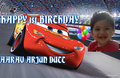 BIRTHDAY - disney-pixar-cars fan art