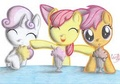 Babs seed song drawing - my-little-pony-friendship-is-magic fan art