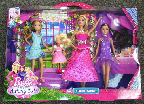 Barbie and her sisters in a pony tale Puppen