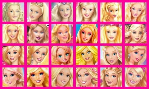Barbie-Filme Hintergrund titled Barbie's Face on BM's Cover