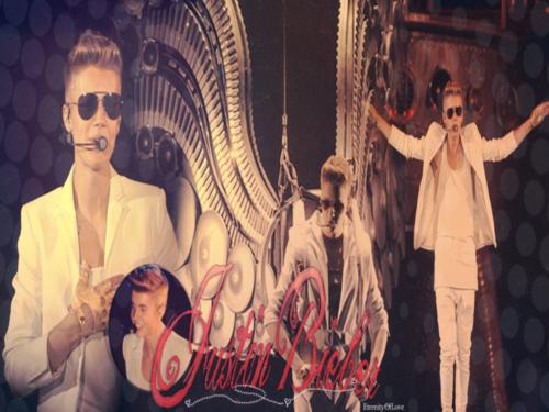 Justin Bieber kertas dinding entitled Believe Tour kertas-kertas dinding