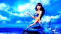 mermaids - Blue Mermaid wallpaper