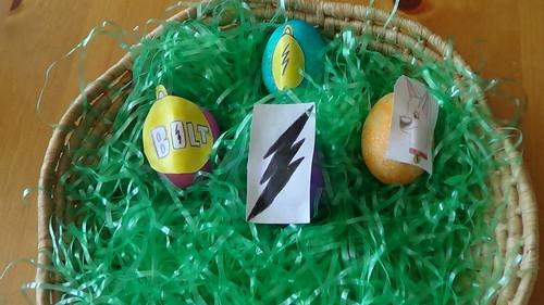 Bolt easter eggs