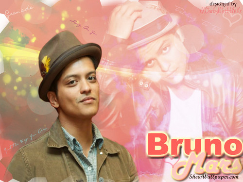 브루노 마스 바탕화면 possibly containing a portrait called Bruno Mars♥