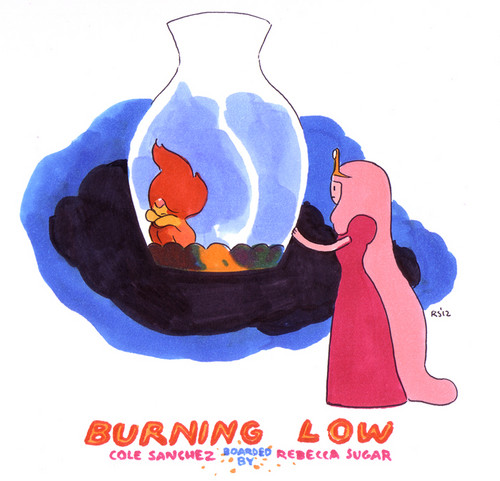 Burning Low Promo Art