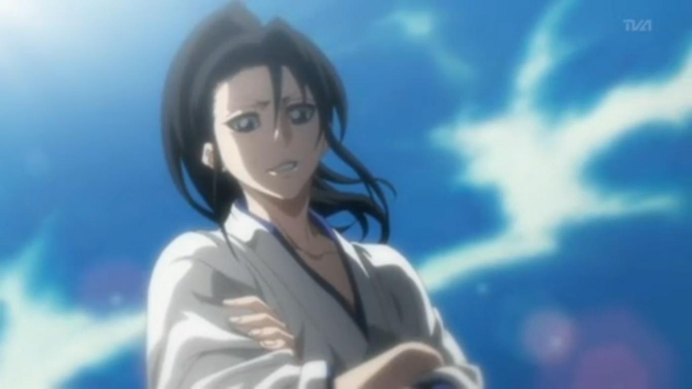 Byakuya's forgotten smile