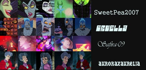 Childhood Animated Movie Villains Hintergrund possibly containing Anime entitled CAMV 20in20 Category Set:Theme TEXTURED