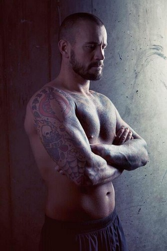 CM Punk wallpaper probably with a hunk and skin entitled CM Punk <3