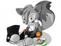 Cane Discovers Video Games - sonic-fan-characters fan art