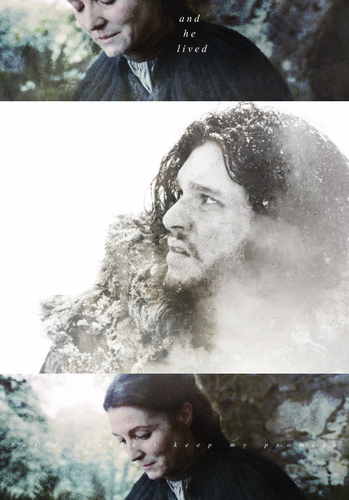 Catelyn Stark & Jon Snow
