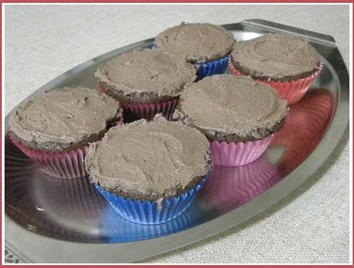 Schokolade Mud Cupcakes