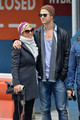 Chris Hemsworth and Elsa Pataky in Midtown - chris-hemsworth photo