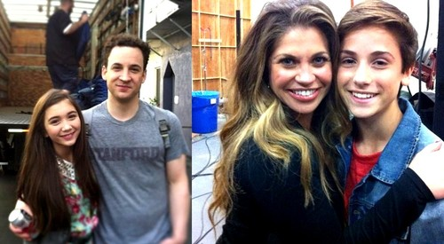 Cory & Topanga with their kids
