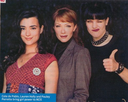 Cote de Pablo, Lauren hulst, holly & Pauley Perrette