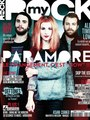 Cover of the new issue of MYROCK Magazine in France - paramore photo