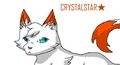 Crystalstar of Thunderclan - warriors-novel-series fan art