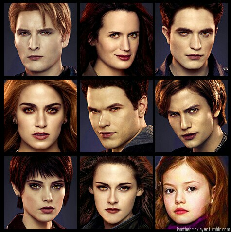 Cullens and Hale's