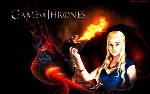 Daenerys Targaryen 壁紙