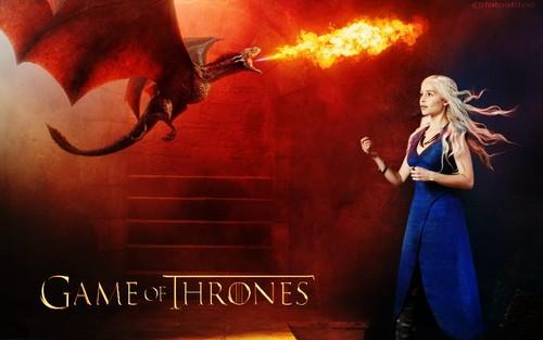 Daenerys Targaryen fond d'écran