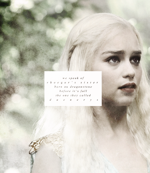 Daenerys Targaryen Fashion Tumblr