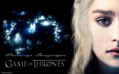 Game of Thrones wallpaper with a portrait entitled Daenerys Targaryen