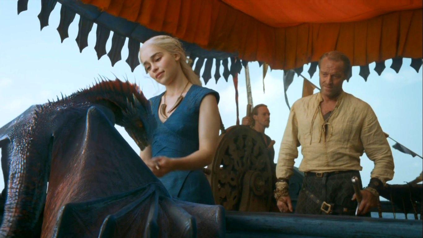 Dany and Jorah - Jorah & Daenerys Photo (34156110) - Fanpop