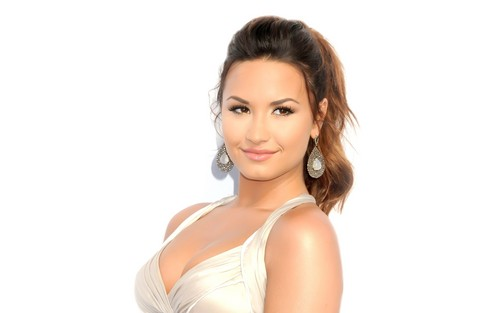Demi Lovato wallpaper probably containing attractiveness, a portrait, and skin entitled Demi Lovato -S-