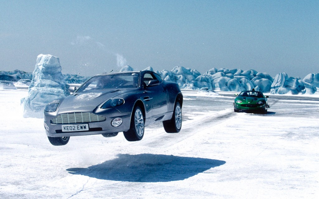 Die Another Day Car Chase Bond Vs Zao James Bond Photo