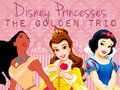 Disney Princesses - The Golden Trio  - the-golden-trio-char-jezzi-and-anj wallpaper