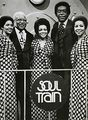"Don Cornelus And The Staple Singers On ""Soul Train"" - the-70s photo"