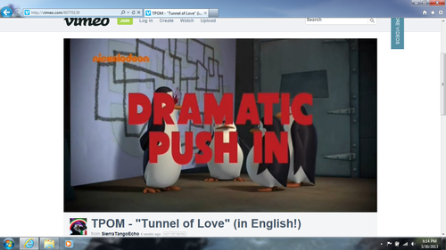 Dramatic Push In