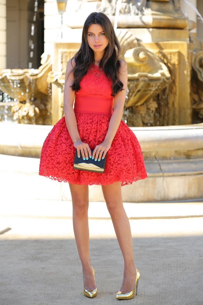 Туфли под красное платье до колена